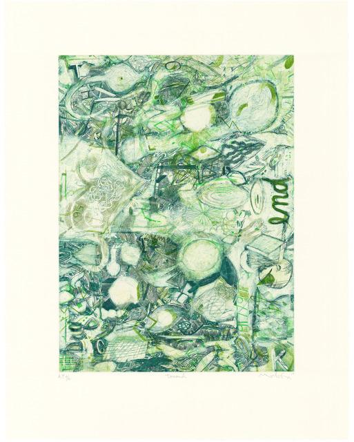 , 'toward,' 2013, Universal Limited Art Editions