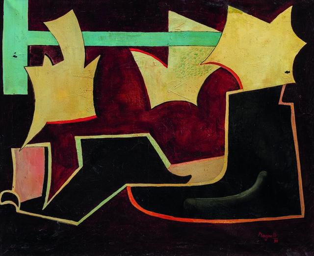 Alberto Magnelli, 'Sans titre', 1936, Painting, Oil on canvas, Leclere
