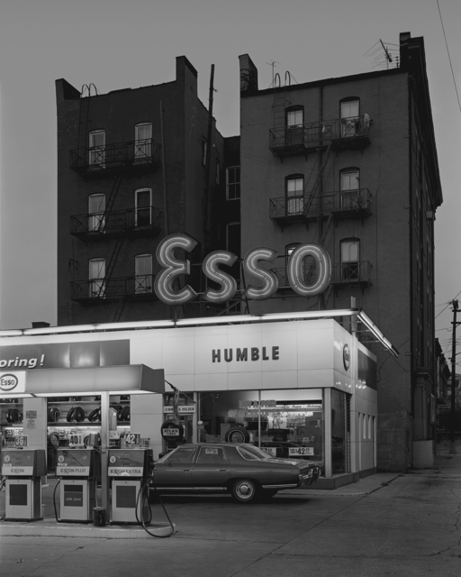 , 'Esso Station and Tenement House, Hoboken, NJ,' 1972-printed 2017, Nailya Alexander Gallery