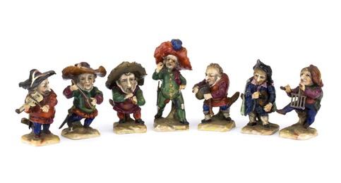 Orchestra of seven dwarfs