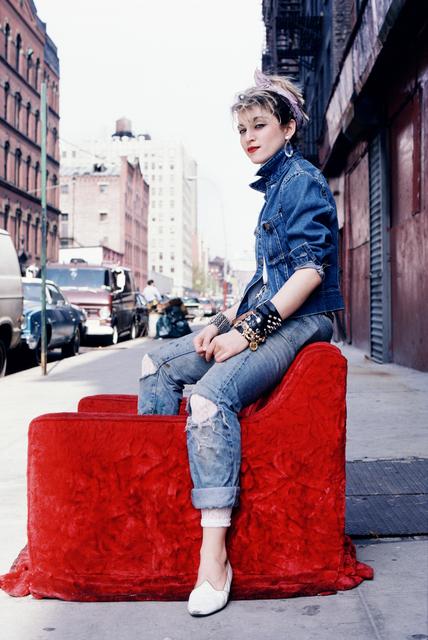 , 'Madonna Red Chair ,' , Milk Gallery