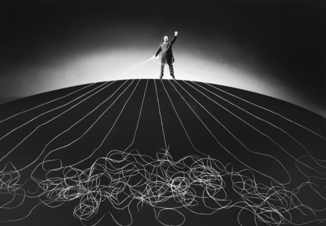 Gilbert Garcin, '374 – Le maître du monde – The master of the world', 2008, Photography, Gelatin silver print, Lisa Sette Gallery