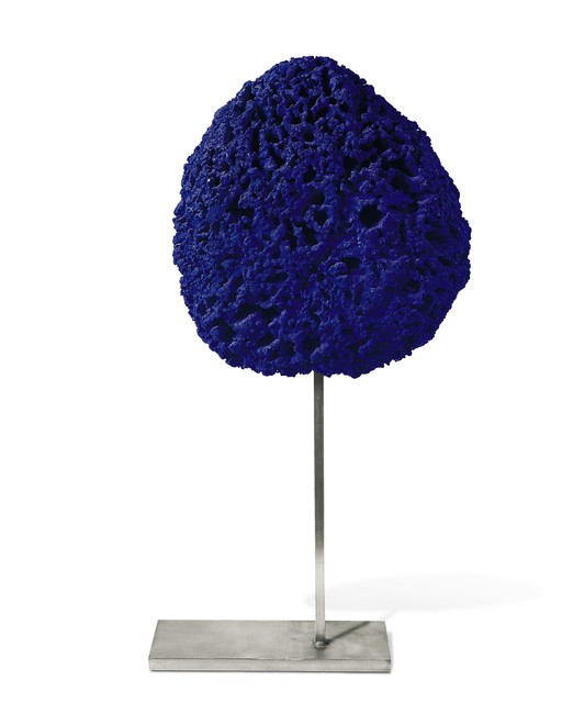 Yves Klein, 'Untitled Blue Sponge Sculpture, (SE 242)', ca. 1960, Ben Brown Fine Arts