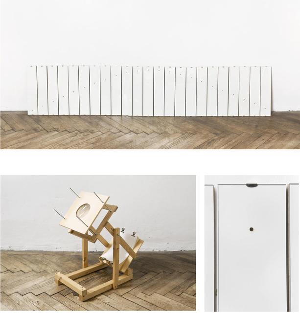 , 'Sonnenlichtaufzeichnungen (Sunlight Records),' 2014, Galerie Reinthaler