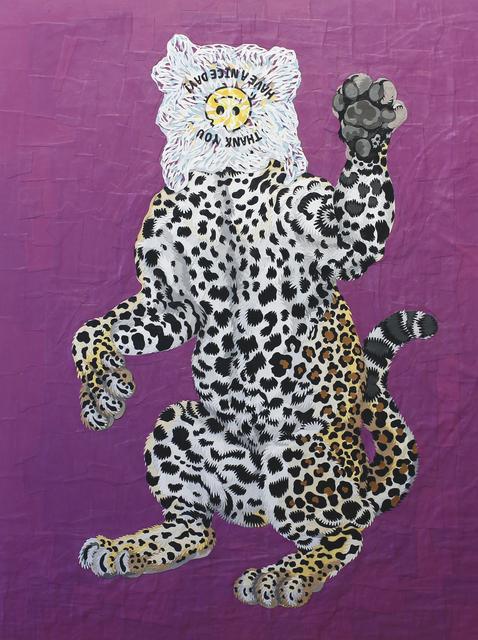 , 'Baghead Leopard,' 2017, Art Attack SF