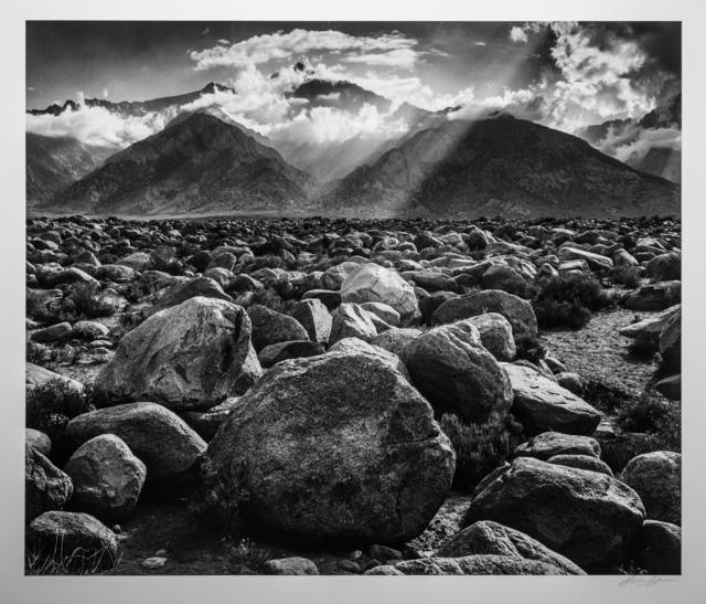 Ansel Adams, 'Mt. Williamson, Sierra Nevada, from Manzanar', ca. 1945, Photography West Gallery