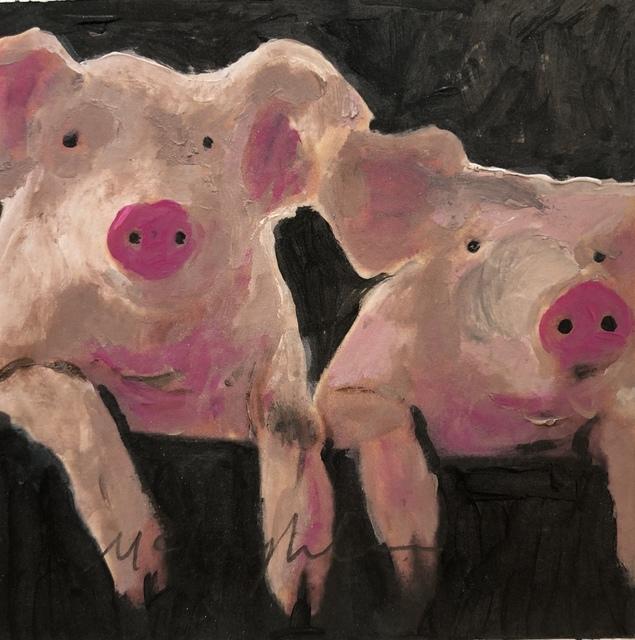 Larry McLaughlin, 'Piggy Portrait #4', 2019, White Space Art Asia
