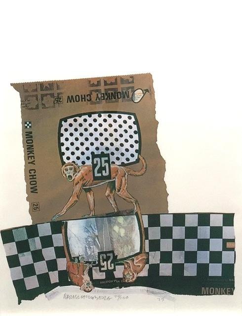 Robert Rauschenberg, 'Chow Bags - Monkey Chow', 1977, Gregg Shienbaum Fine Art