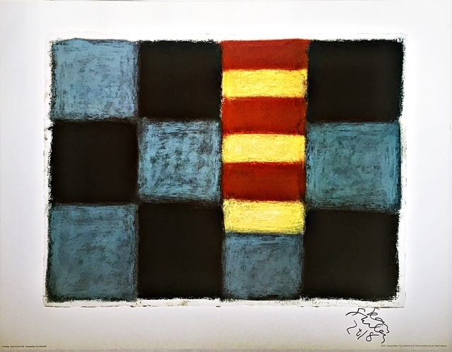 Sean Scully, 'Sean Scully Munich 1996 (Hand Signed)', 2001, Alpha 137 Gallery