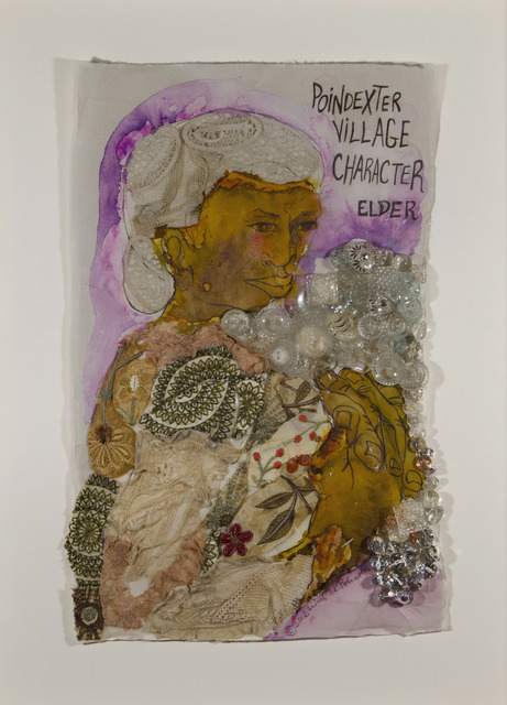 , 'Poindexter Village Character: Elder,' 2012, ACA Galleries