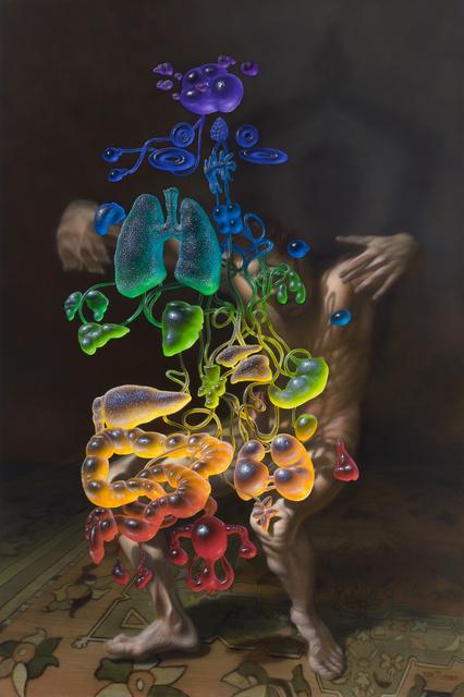 , 'Deez Mothafuckin' Chakraz,' 2015, Gallery Poulsen