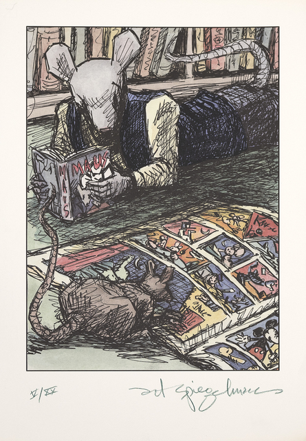 , 'Self Portrait (Rodents Reading),' 2009, Marlborough Graphics