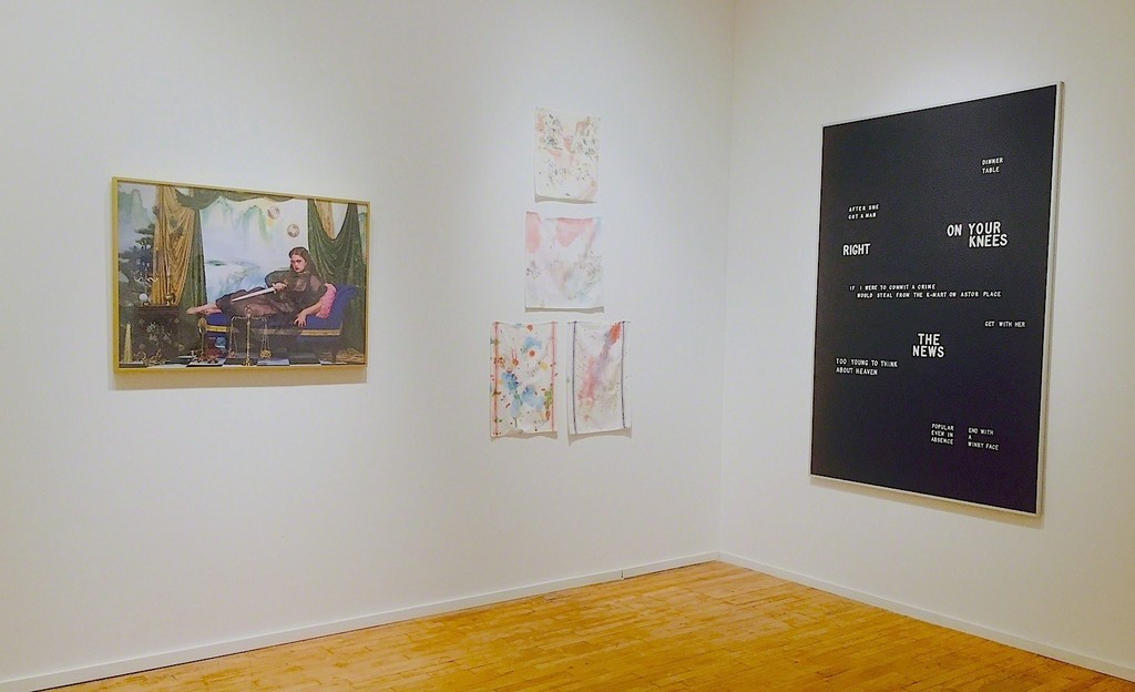 Left: Rachel Stern, Self Portrait as Medea; 