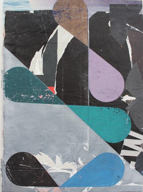, 'o.T. (Die lange Runde),' 2018, Galerie Heike Strelow