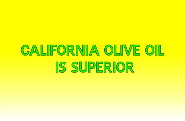 , 'Banner (California Olive Oil is Superior),' 2015, Clifton Benevento