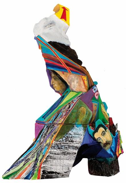 Luis Felipe Noe, 'Proyecto de monumento a la humanidad', 2015, Galería Rubbers Internacional