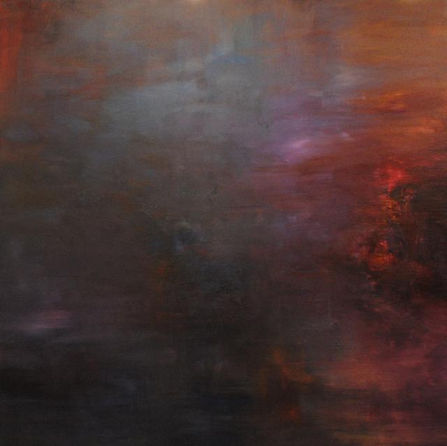MD Tokon, 'Midnight After the Rain', 2013, Painting, Acrylic on Canvas, Isabella Garrucho Fine Art