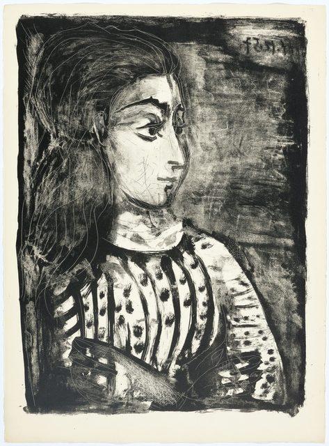 Pablo Picasso, 'Jacqueline de profil', 1958, Koller Auctions