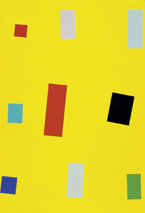 Imi Knoebel, 'Gelbe Fahne (Yellow Flag)', 1999, Schellmann Art