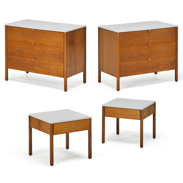 Florence Knoll, 'Pair Of Dressers And Nightstands, New York', 1960s, Rago/Wright