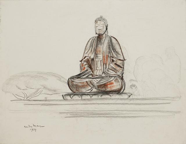 , 'Buddha,' 1954, Galerie Dumonteil