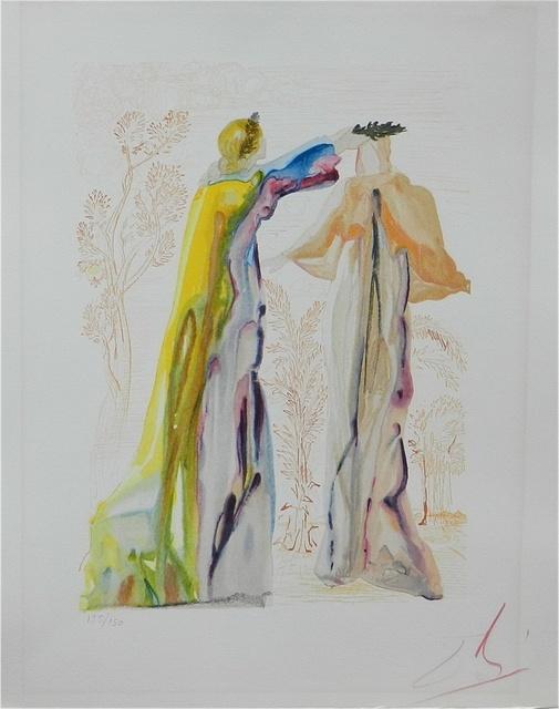Salvador Dalí, 'Divine Comedy Purgatory Canto 27', 1967, Print, Woodcut, Fine Art Acquisitions Dali
