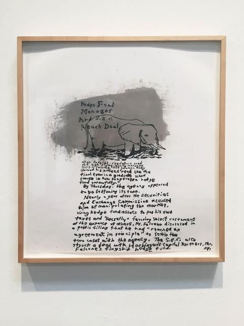 , 'Deal,' 2014, Rosamund Felsen Gallery