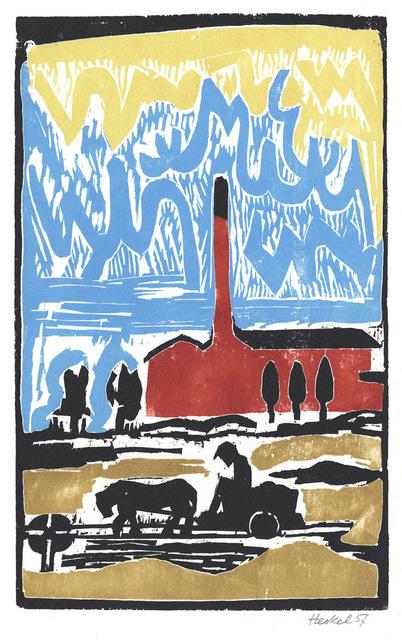 , 'Ziegelei (Brick manufacture),' 1957, August Laube Buch & Kunstantiquariat