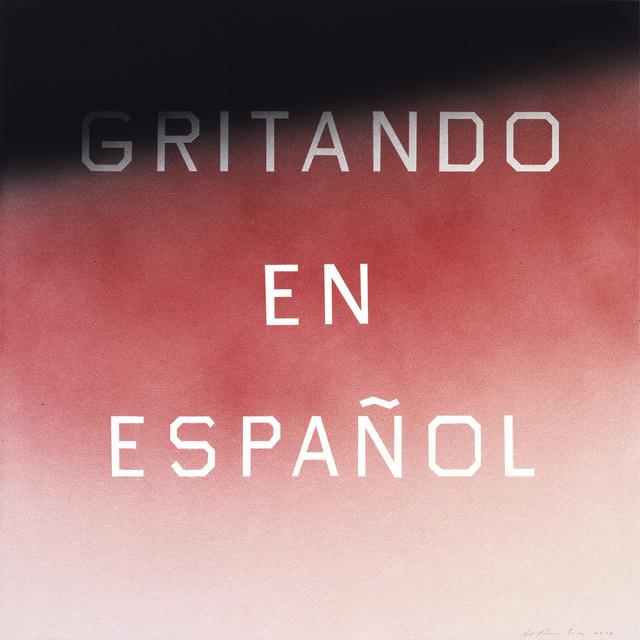 , 'Gritando En Español (#1),' 2014, Gagosian