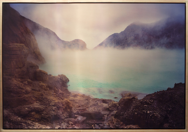 , 'Acid Crater Lake, Kawah Ijen, Sulfuric and Hydrochloric Acid, E. Java,' 2011, Brian Gross Fine Art