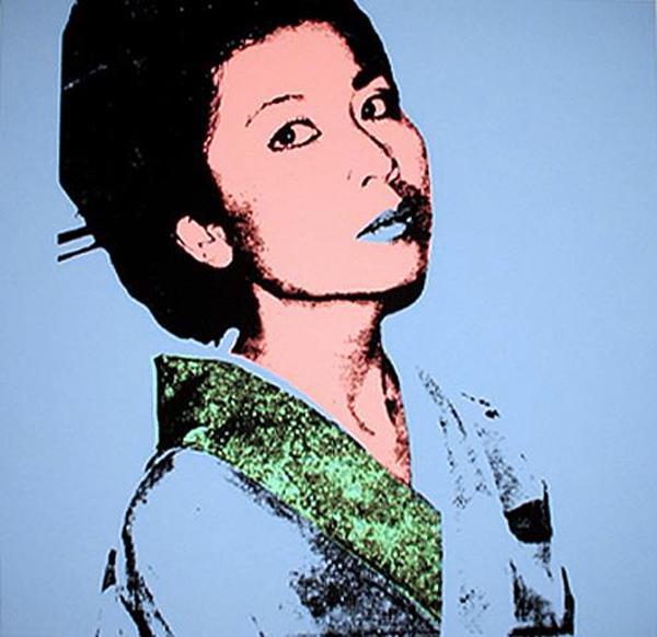 Andy Warhol, 'Kimiko', 1981, Print, Screenprint on Stonehenge paper, Woodward Gallery