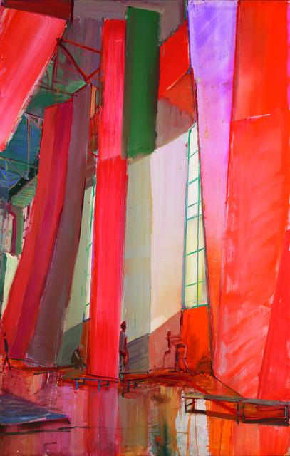 , 'Kletterhalle – Fensterwand II ,' 2014, G2 Kunsthalle