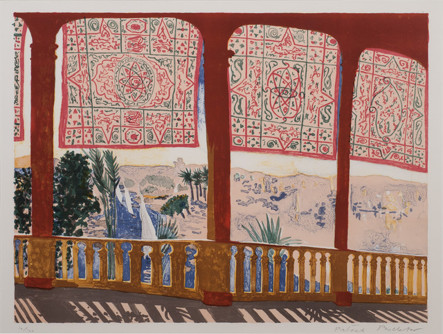 , 'Cataract, Aswan,' 1985, Redfern Gallery Ltd.