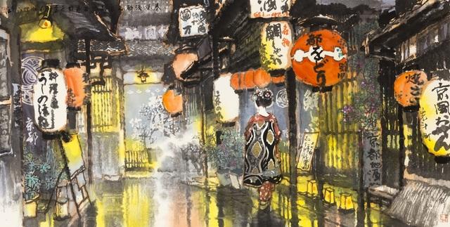 Zi Jiang Wang 王子江, 'Light of the Hanging Lanterns', 2017, White Space Art Asia