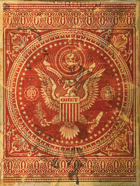 Shepard Fairey, 'Presidential Seal (Red)', 2007, Hieronymus