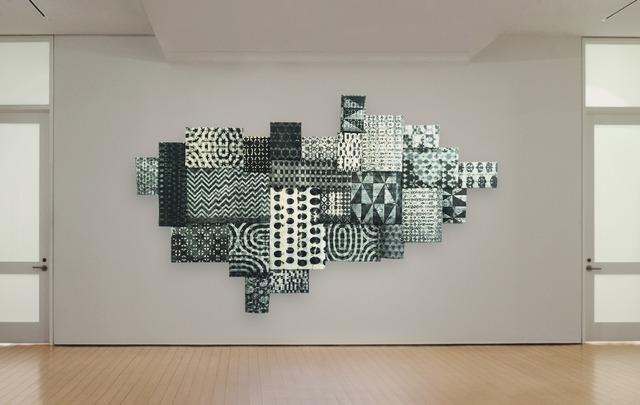 , 'Black & White Patchwork,' 2018, Callan Contemporary