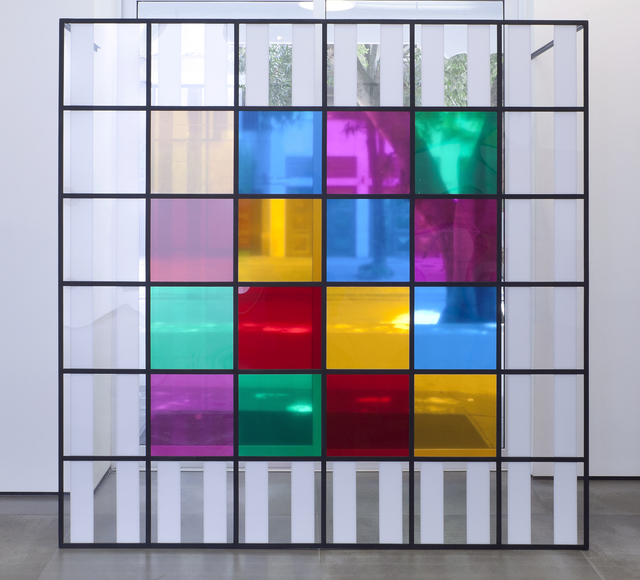 , 'colors, light, projection, shadows, transparency: works in situ 5,' 2015, Galeria Nara Roesler