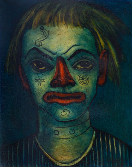 , 'Le Clown Fratellini (Fratellini Clown),' 1937-1938, The Museum of Modern Art