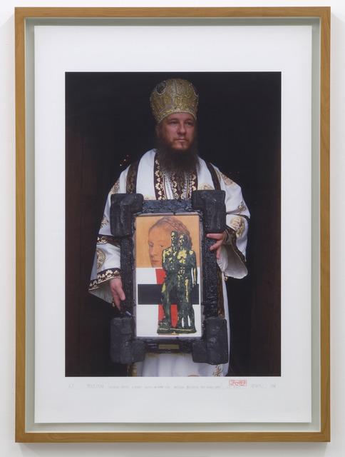 , 'Procession (Bischop Metodij Zlatanov holding an Irwin – Icon: Malevich between two wars) Irwin (DušanMandič),' 2006, Galerija Gregor Podnar