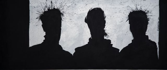 , 'Three Shadow Figures,' 2001, Chase Contemporary