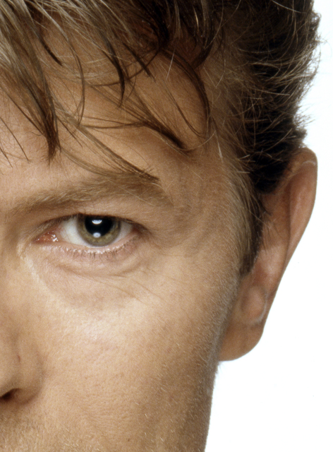 , 'David Bowie eyes (right half),' ca. 1970, Mouche Gallery