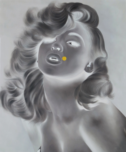 , 'White Shadow (Jayne with Yellow Dot),' 2014, Collectors Contemporary
