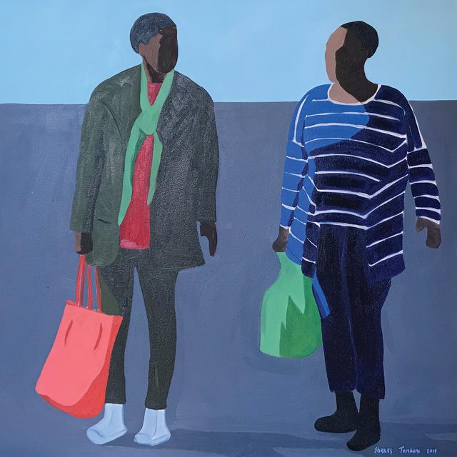 Shakes Tembani, '2 Ladies', 2019, Opulent Living Gallery