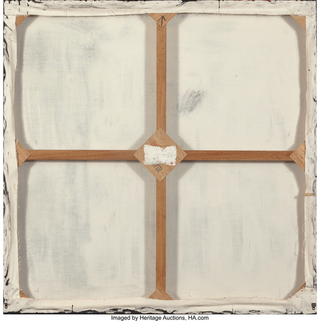 Mary Corse, 'Untitled from Grey Light Grid Series', 1988, Painting, Glass microspheres in acrylic on canvas, Heritage Auctions