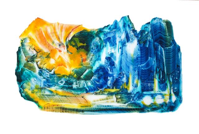 , 'Lumière d'Hiver II,' 2017, Emillions Art