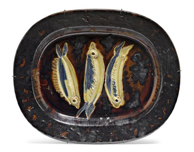 Pablo Picasso, 'Trois sardines', 1948, Koller Auctions