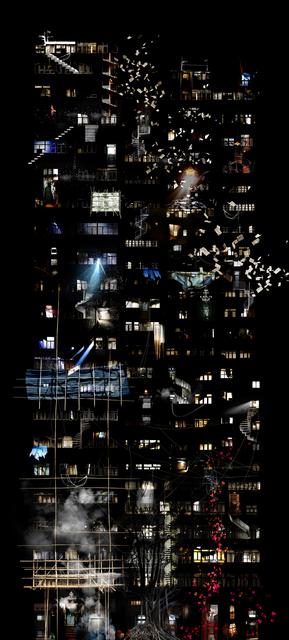 , 'Labyrinth Façade,' 2019, Pékin Fine Arts