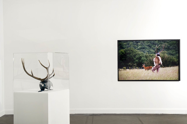 , 'Jeter les bois,' 2007, Galerie Les filles du calvaire