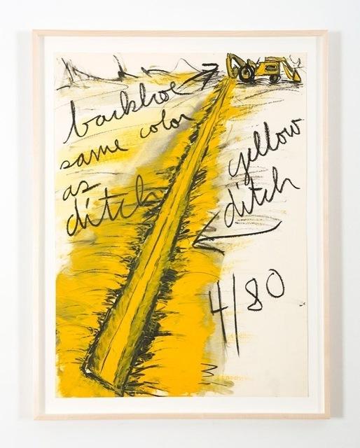 Kate Ericson and Mel Ziegler, 'Untitled (Backhoe)', 1980, Perrotin