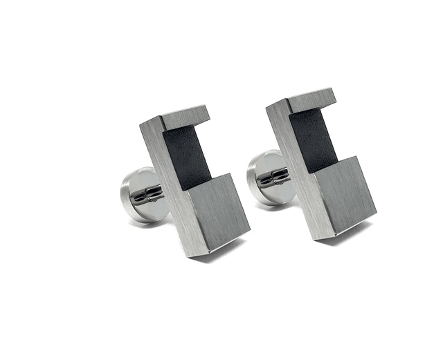, 'IC-J1 Cufflinks,' 2018, Iker Ortiz